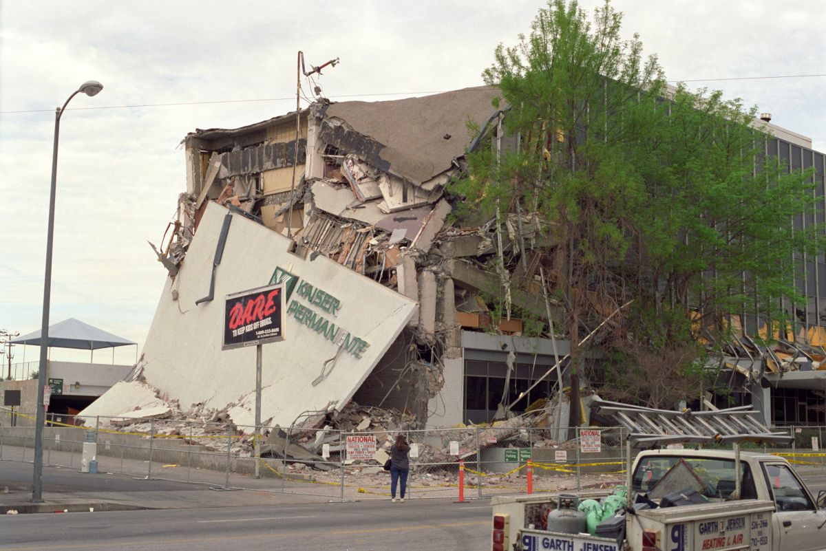 Kaiser Permanente Building After Northridge Earthquake